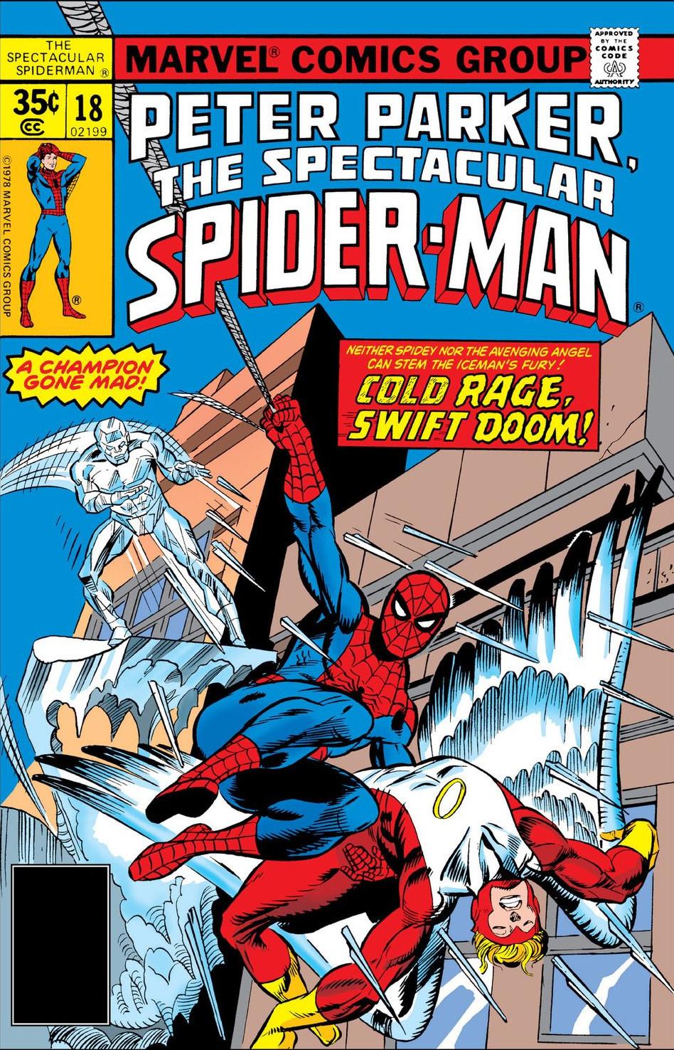 Peter Parker, The Spectacular Spider-Man Vol 1 18