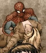 Peter Parker (Earth-21205) and Gwendolyne Stacy (Earth-21205) from Spider-Verse Team-Up Vol 1 2 001