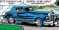 Professor Xavier's Rolls Royce from X-Men Vol 1 1 0001