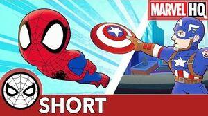 "Spidey to Cap ""Roger That!"" Marvel Super Hero Adventures - LISTEN SHORT"