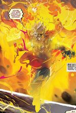 Thor Odinson (Earth-14412) and Phoenix Force (Earth-14412) from Thor Vol 5 6 001