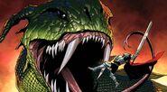 Thor Odinson (Earth-616) vs. Cul Borson (Earth-616) from Fear Itself Vol 1 7 (Cover)