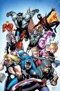 Ultimate Comics Ultimates Vol 1 4 Stevens Variant Textless