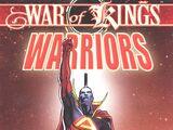 War of Kings: Warriors Vol 1 1