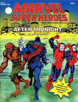 Arnold Paffenroth, Percy and Barton Grimes, Jacob Russoff (Earth-616) in After Midnight cover