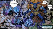 Atlanteans, Attuma, Namor McKenzie, Namorita Prentiss (Earth-616) from Defenders Vol 2 5
