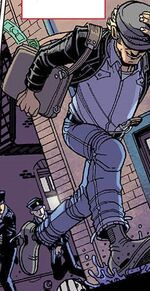 Burglar (Earth-16220) from Spidey Vol 1 1 001