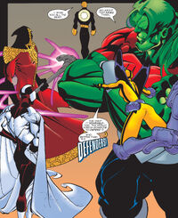Defenders (Earth-1298) from Mutant X Annual Vol 1 1999 0001