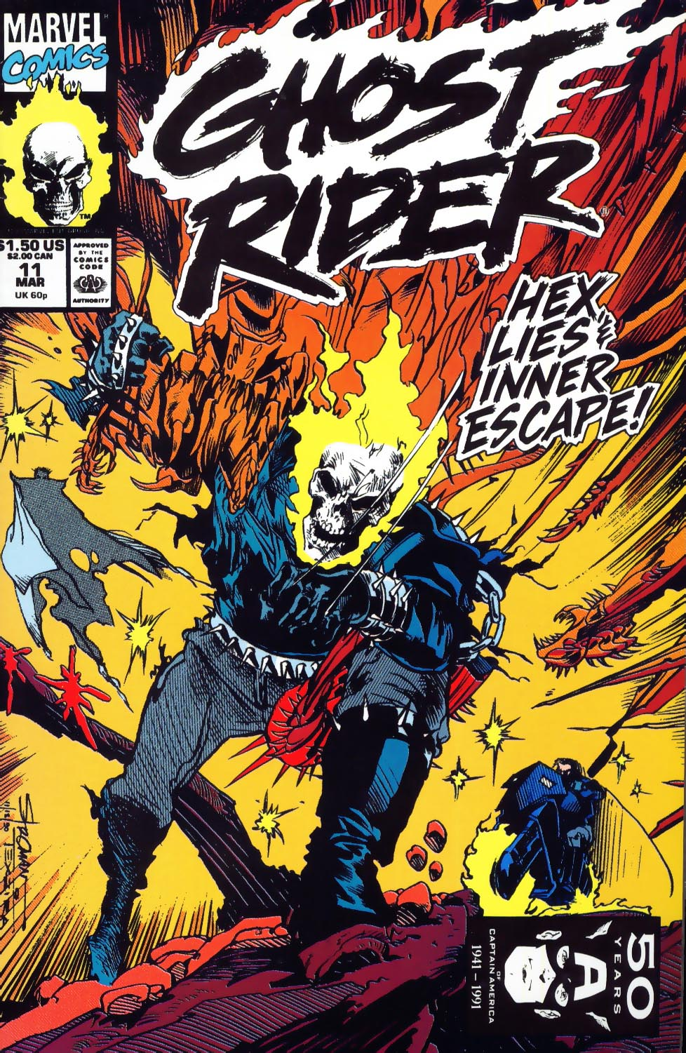 Book Cover Series Wiki : Ghost rider vol marvel database fandom powered by