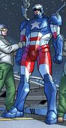 James Rhodes (Earth-616) with Iron Patriot Armor from Iron Man Fatal Frontier Infinite Comic Vol 1 1 001