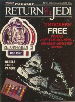 Return of the Jedi Weekly (UK) Vol 1 75