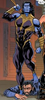 Roman (Earth-23291) from Secret Wars 2099 Vol 1 3 001