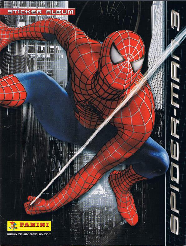 spiderman 3 sticker album vol 1 1 marvel database