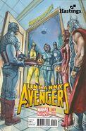Uncanny Avengers Vol 1 1 Happy Halloween Variant