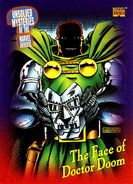 Victor von Doom (Earth-616) from Marvel Universe Cards Series IV 0002