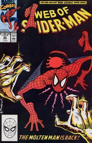 Web of Spider-Man Vol 1 62