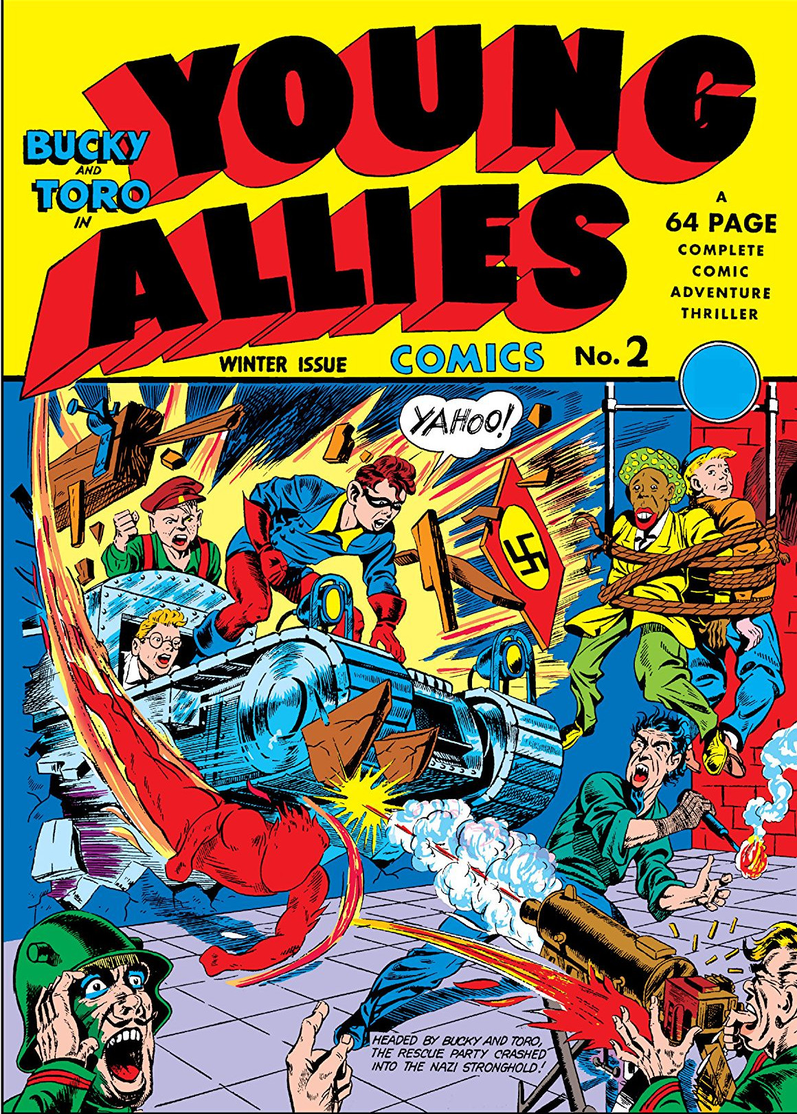 Young Allies Vol 1 2 | Marvel Database | FANDOM powered by Wikia