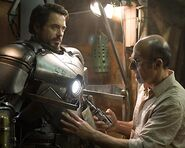 Anthony Stark (Earth-199999) and Ho Yinsen (Earth-199999) from Iron Man (film) 0001