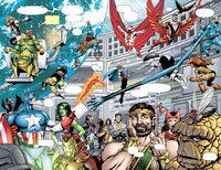 Avengers (Earth-4321) Marvel Universe The End Vol 1 1