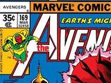 Avengers Vol 1 169