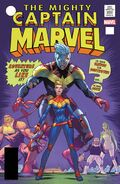 Captain Marvel Vol 1 125 Lenticular Homage Variant