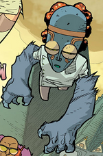 Doctor Meatball (Earth-63163) from Nextwave Vol 1 9 001
