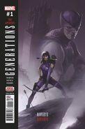 Generations Hawkeye & Hawkeye Vol 1 1 Second Printing Variant