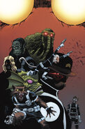 Howling Commandos of S.H.I.E.L.D. Vol 1 1 Shalvey Variant Textless