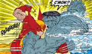 James Howlett (Earth-616) and Bruce Banner (Earth-616) from Incredible Hulk Vol 1 340 0001