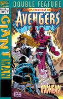 Marvel Double Feature...The Avengers Giant-Man Vol 1 380