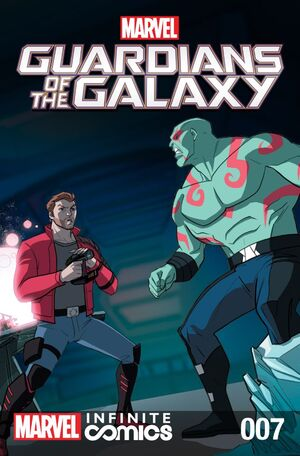 Marvel Universe Guardians of the Galaxy Infinite Comic Vol 1 7