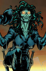 Medusa (Gorgon) (Earth-616) from Wolverine Hercules Myths, Monsters & Mutants Vol 1 2 001