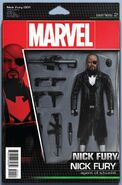 Nick Fury Vol 1 1 Action Figure Variant