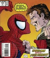 Peter Parker (Earth-616) and Peter Parker (Ben Reilly) (Earth-616) from Web of Spider-Man Vol 1 117 (cover)