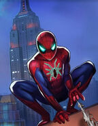 Peter Parker (Earth-TRN461) from Spider-Man Unlimited (video game) 095