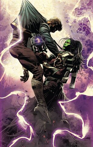 File:Peter Quill (Earth-616) and Gamora Zen Whoberi Ben Titan (Earth-7528) from Infinity Wars Vol 1 1 001.jpg