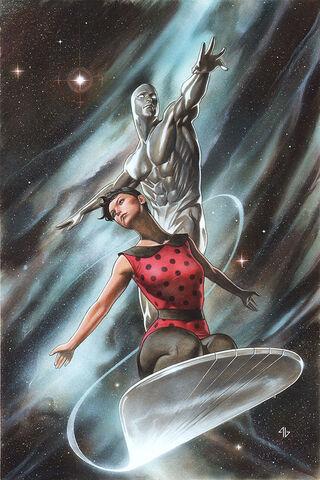 File:Silver Surfer Vol 7 3 Granov Variant Textless.jpg