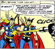 Thor Odinson (Earth-616) and Thor Odinson (Demon Duplicate) (Earth-616) from Journey into Mystery Vol 1 95 0001