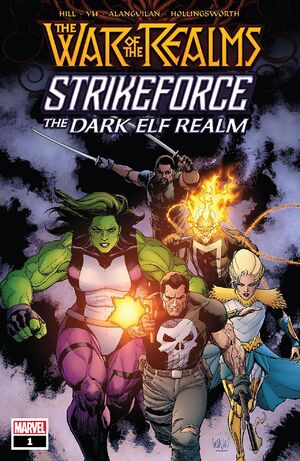 War of the Realms Strikeforce The Dark Elf Realm Vol 1 1