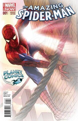 File:Amazing Spider-Man Vol 3 1 Planet Comics Sketch Variant.jpg