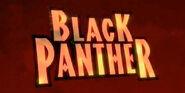 Black Panther animated series logo