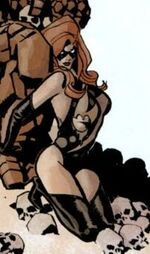 Carol Danvers (Earth-11080) from Marvel Universe Vs. The Punisher Vol 1 1 001