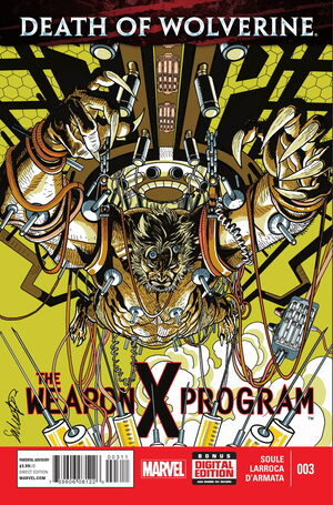 Death of Wolverine The Weapon X Program Vol 1 3