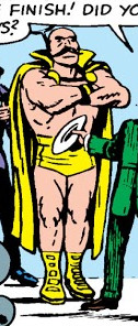 Golden Angel (Wrestler) (Earth-616) from Fantastic Four Vol 1 14 0001