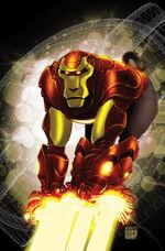 Invincible Iron Man Vol 2 5 Ape Variant Textless