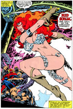 Mary Jane Waston as Red Sonja Earth-616