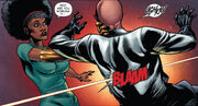 Mercedes Knight (Earth-616) and Phillip Masters (Earth-616) from Heroes for Hire Vol 3 5