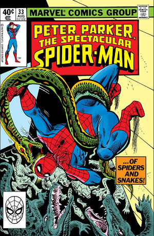 Peter Parker, The Spectacular Spider-Man Vol 1 33