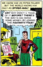 Peter Parker (Earth-616) from Amazing Spider-Man Vol 1 1 001