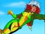Rogue (Earth-92131) in X-Men The Animated Series Title Sequence